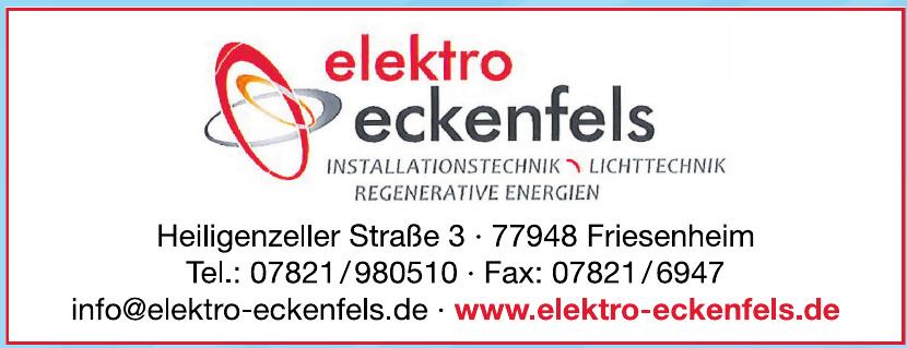 Elektro eckenfels GmbH
