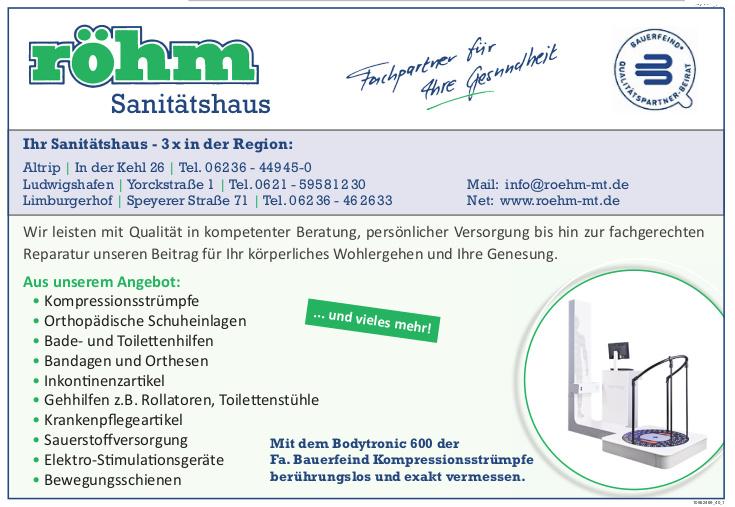 röhm Sanitätshaus