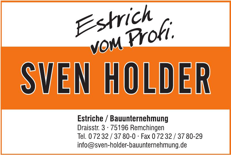 Sven Holder - Estriche / Bauunternehmung