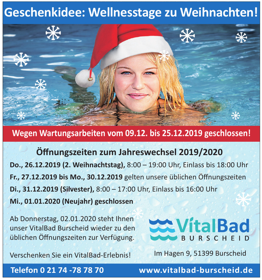 VitalBad Burscheid