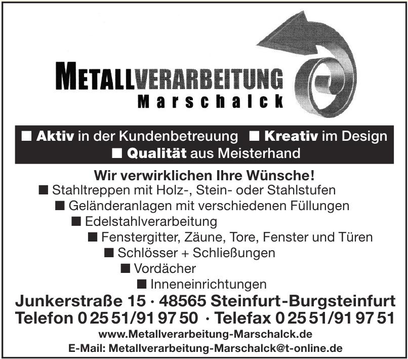 Metallverarbeitung Marschalck