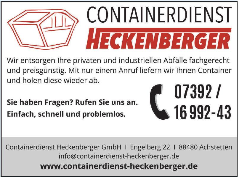 Containerdienst Heckenberger GmbH