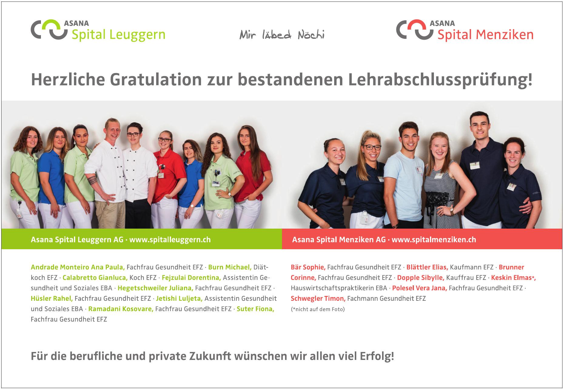 Asana Spital Leuggern AG