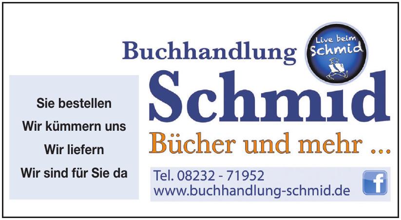 Buchhandlung Schmid