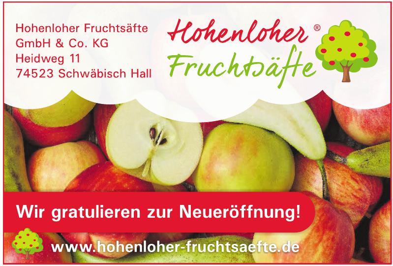 Hohenloher Fruchtsäfte GmbH & Co. KG