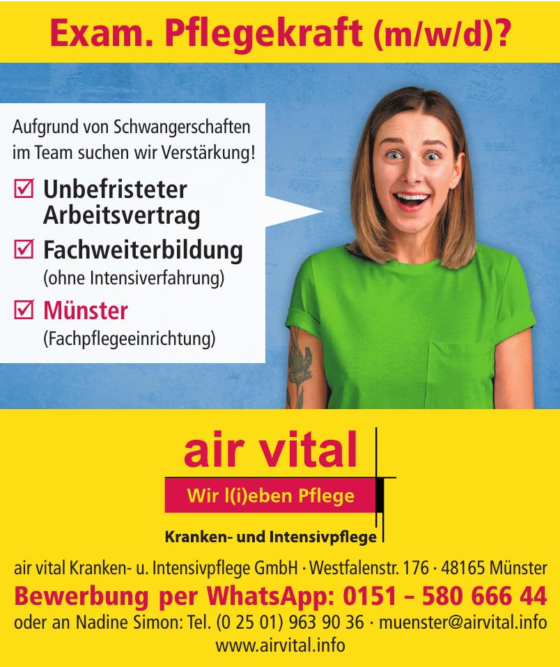 air vital Kranken- und Intensivpflege GmbH