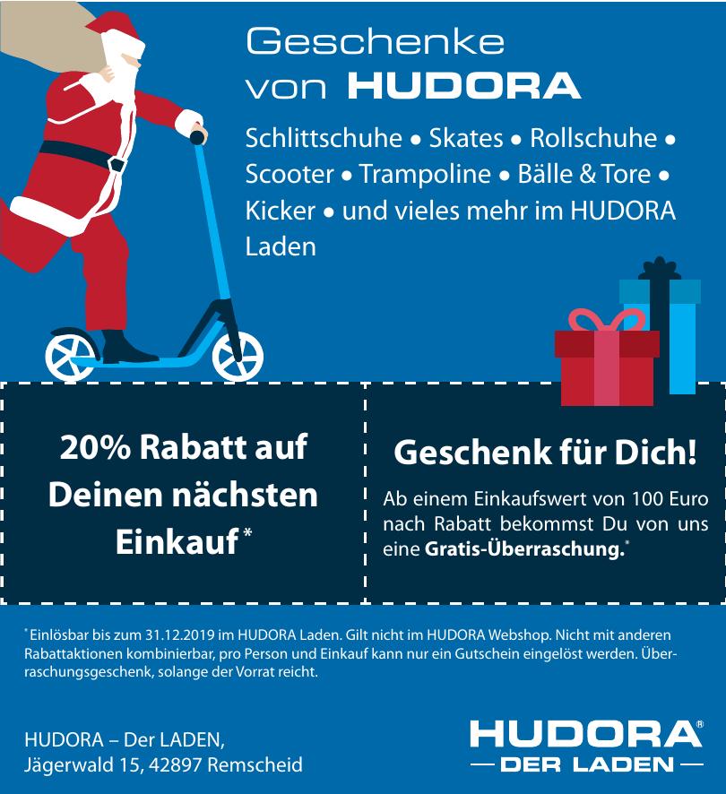 Hudora - Der Laden