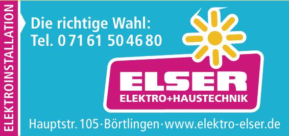 Elser Elektro + Haustechnik