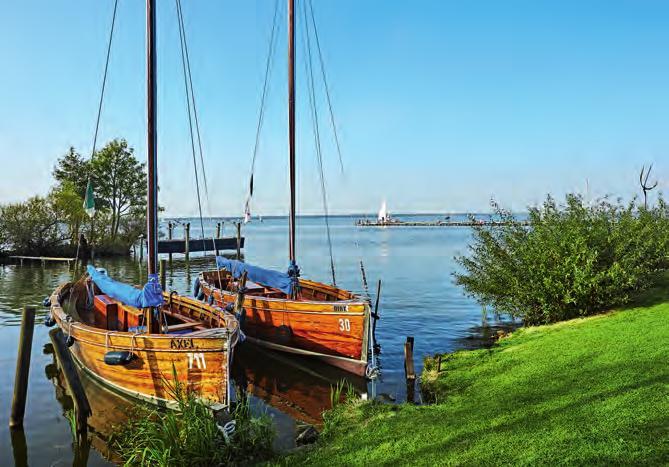 Das Steinhuder Meer lockt mit 32 Wandertouren und der Insel Wilhelmstein. Foto: HMTG, C. Wyrwa