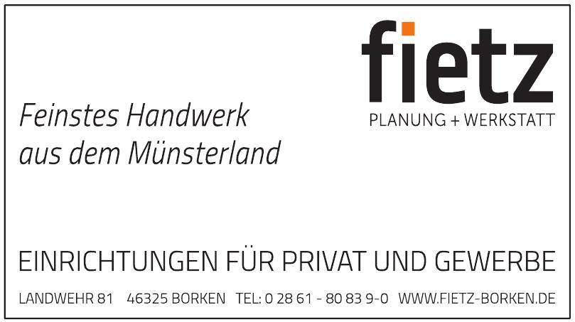 Fietz Planung+Werkstatt