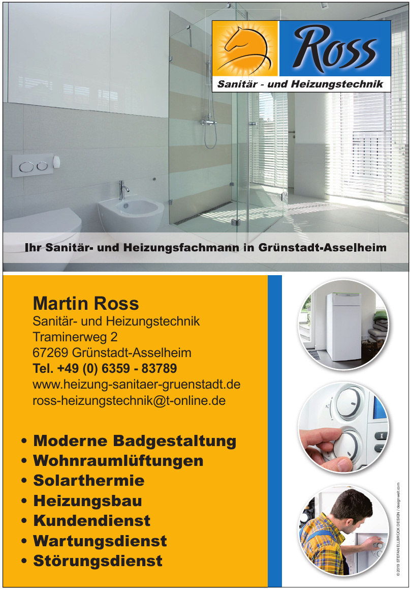 Martin Ross Sanitär- und Heizungstechnik