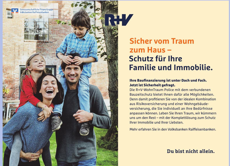 Genossenschaflitche FinanzGruppe Volksbanken Raiffeisenbanken -  R+V