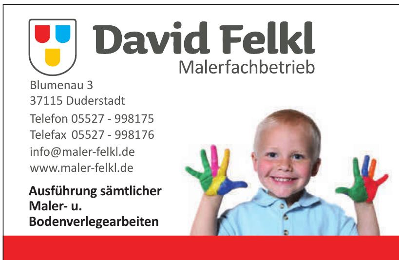 David Felkl Malerfachbetrieb