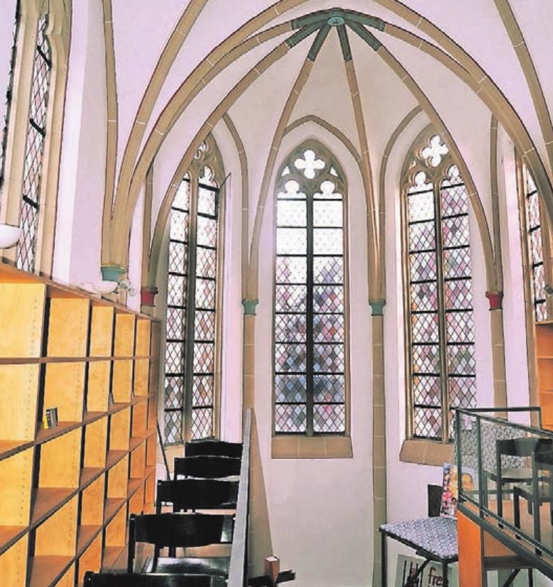 Die Heilig-Geist-Kapelle, die nicht mehr kirchlich genutzt wird, liegt im Herzen Kempens nahe dem Buttermarkt.
