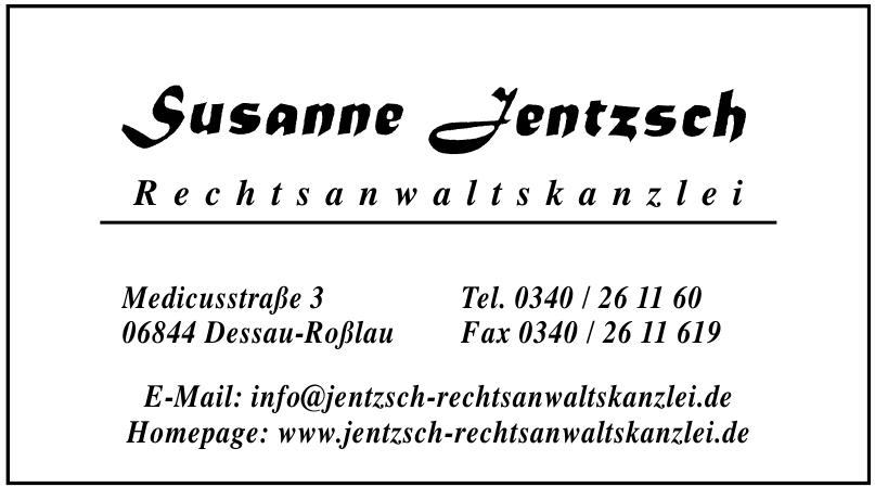 Susanne Jentzsch Rechtsanwaltkanzlei