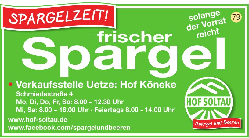Verkaufsstelle Uetze: Hof Könecke