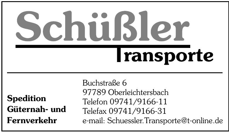 Schüßler Transporte