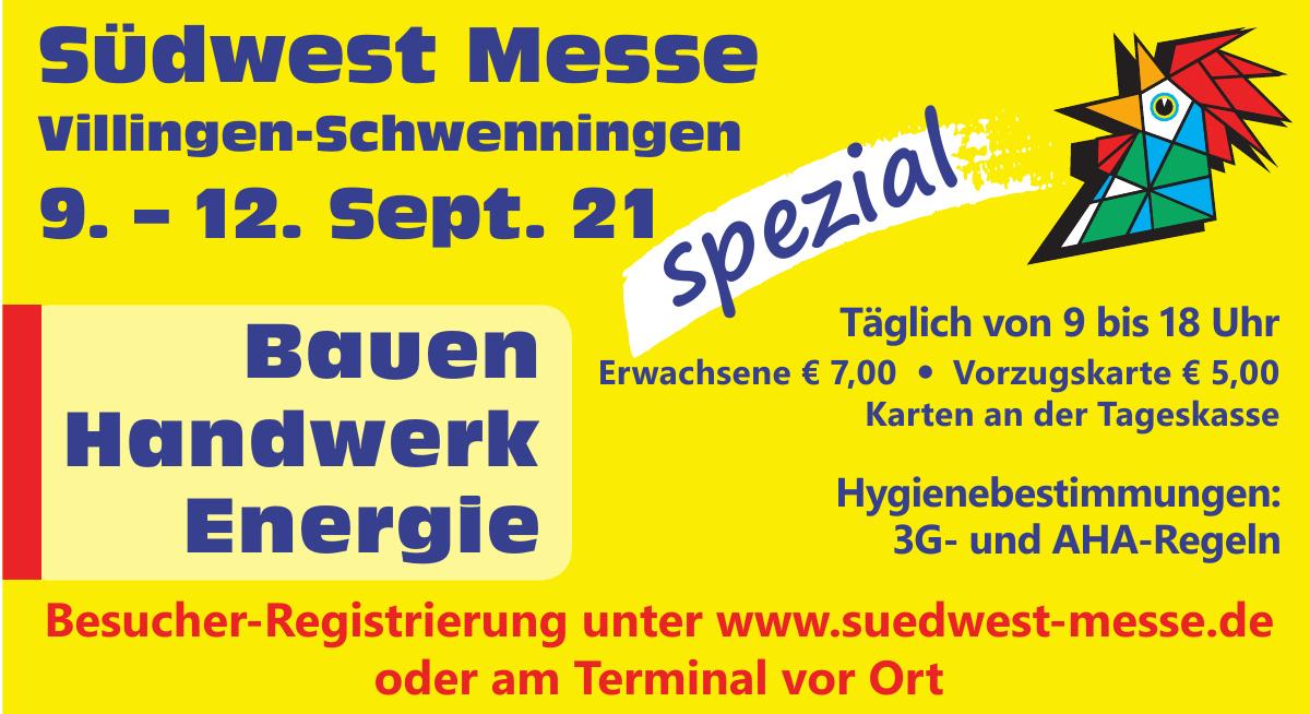 Südwest Messe Villingen-Schwenningen