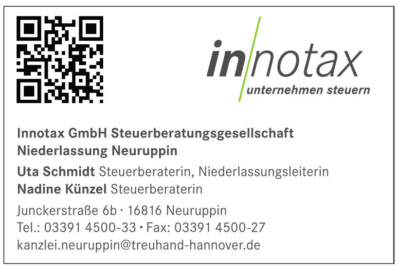 Innotax GmbH Steuerberatungsgesellschaft Niederlassung Neuruppin