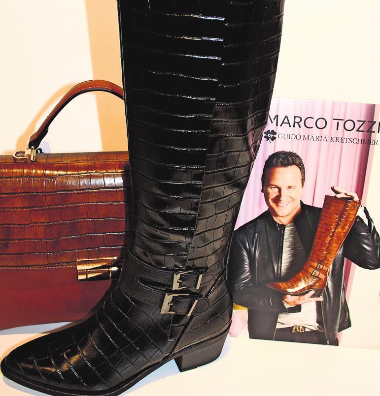 """Marco Tozzi by Guido Maria Kretschmer, bekannt aus der Serie """"Shopping Queen"""". Foto: z/privat"""