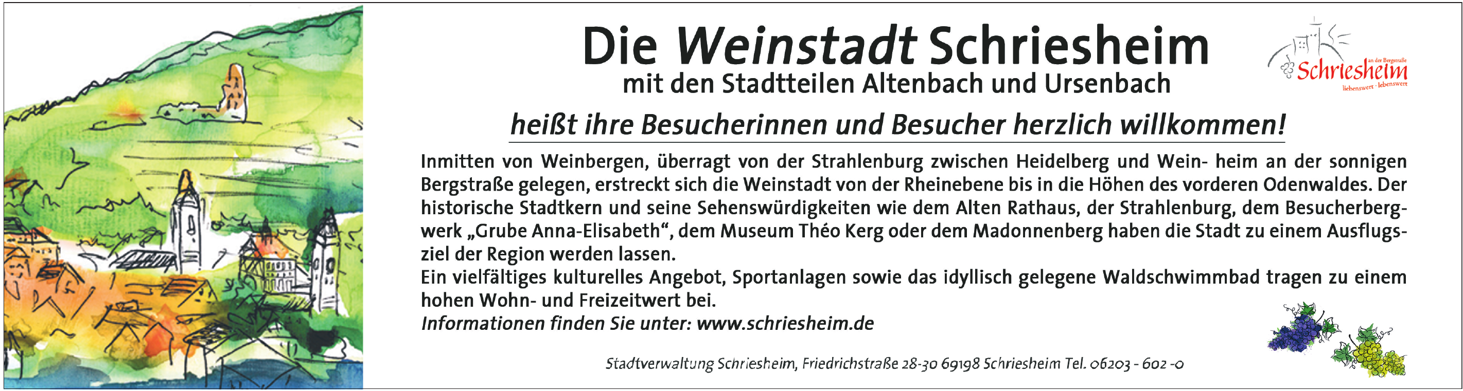 Stadtverwaltung Schriesheim