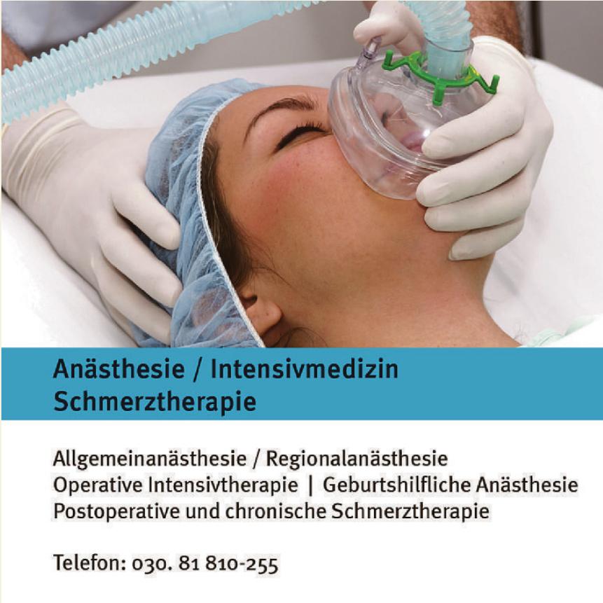 Anästhesie / Intensivmedizin Schmerztherapie