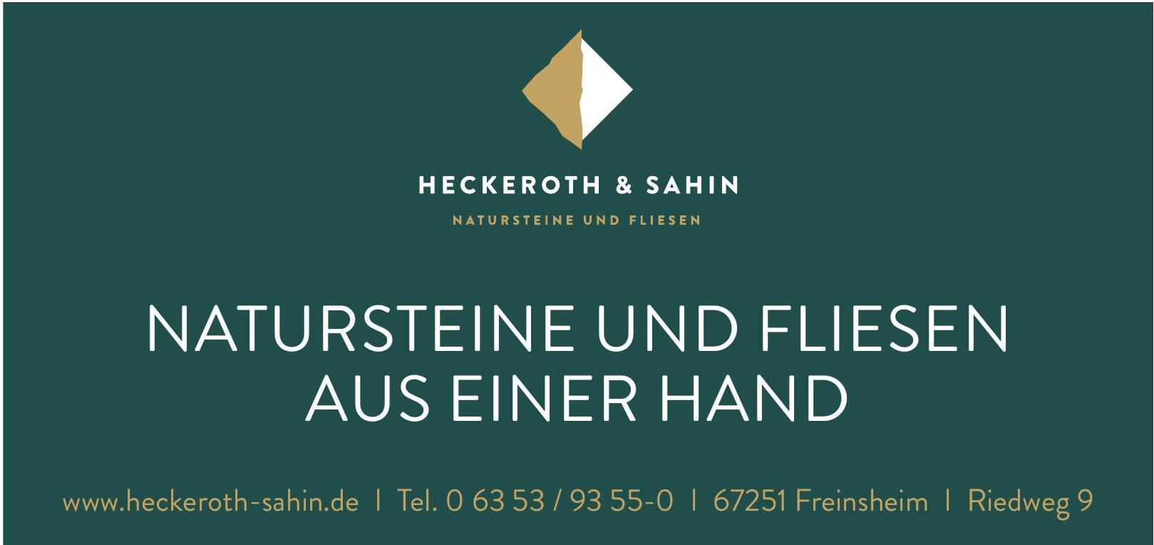Heckeroth & Sahin