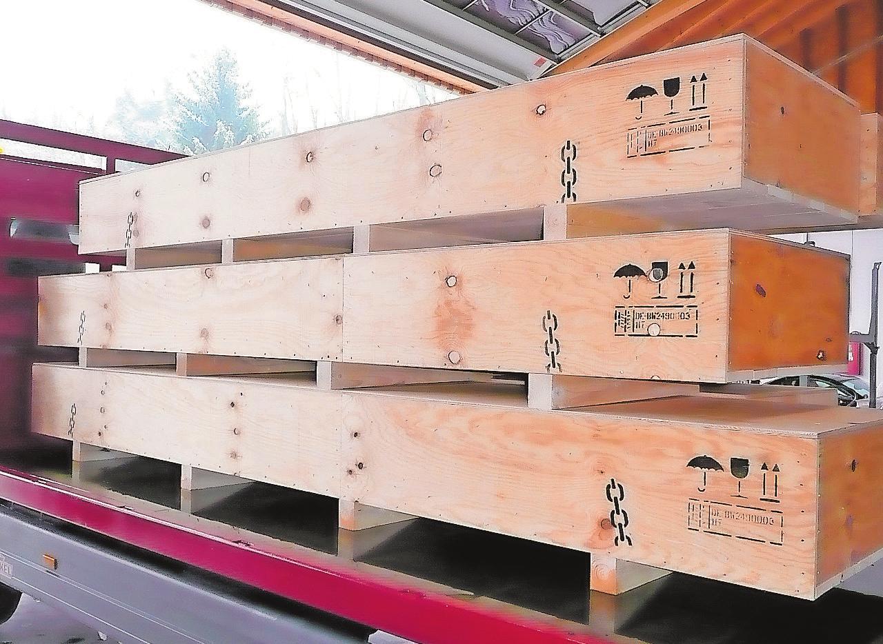 Alles sicher verpackt mit Holz aus nachhaltiger Forstwirtschaft Image 1