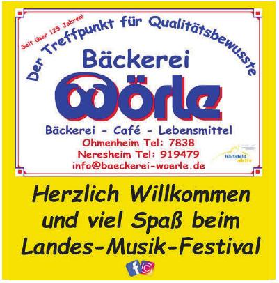 Bäckerei  Wörle