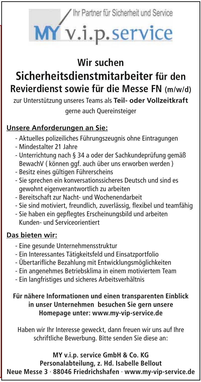 MY v.i.p. service GmbH & Co. KG