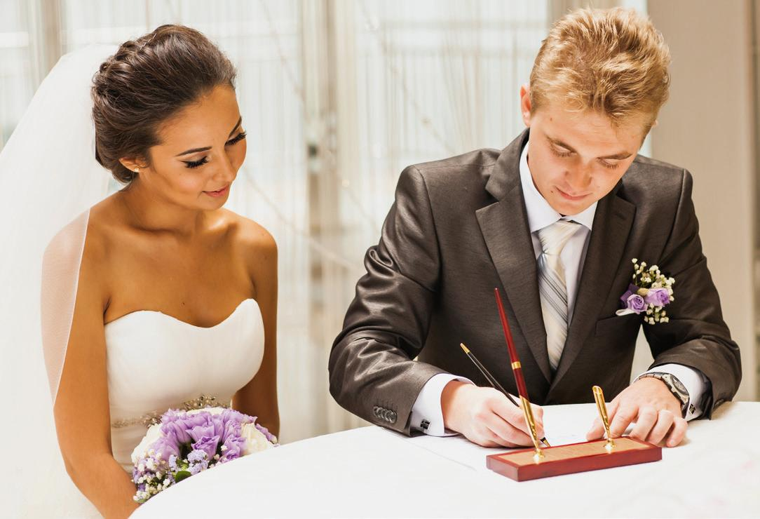 Die Eheschließung ist eine formelle Angelegenheit. Foto: satura86/123RF