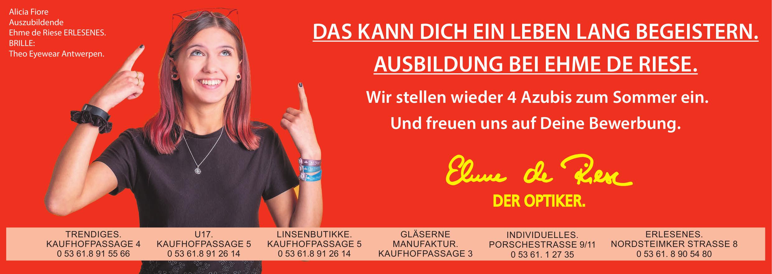 Ehme de Riese U17.