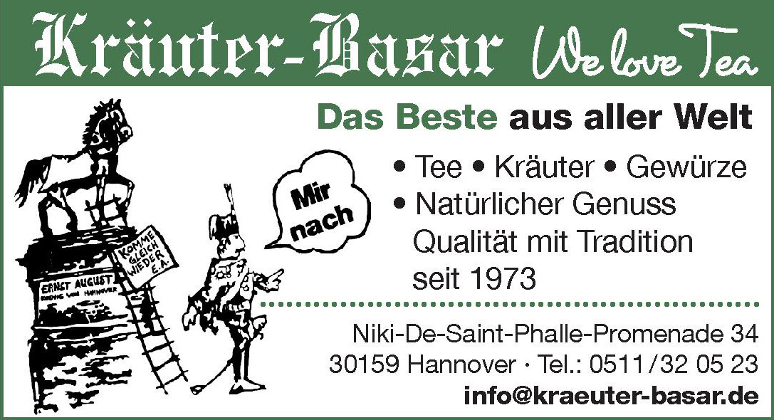 Kräuter-Basar We love Tea