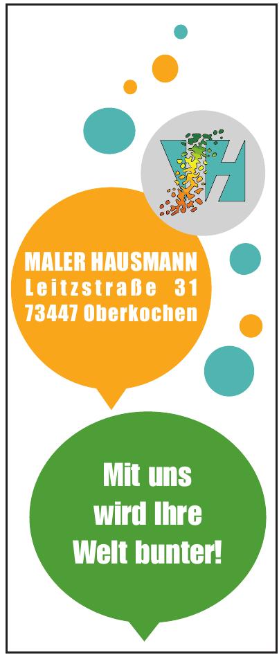 Maler Hausmann