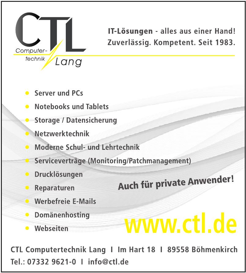 CTL Computertechnik Lang