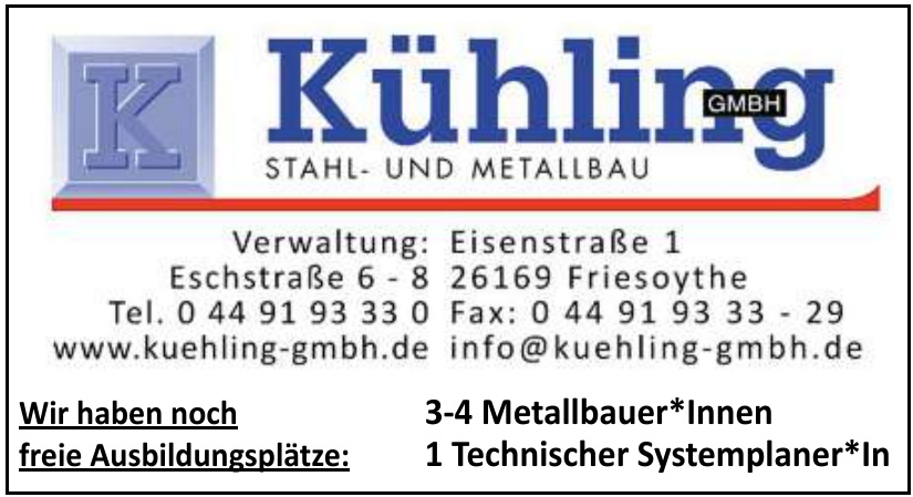 Kühling Stahl- und Metallbau GmbH