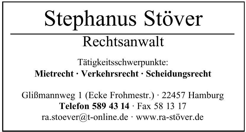 Stephanus Stöver Rechtsanwalt