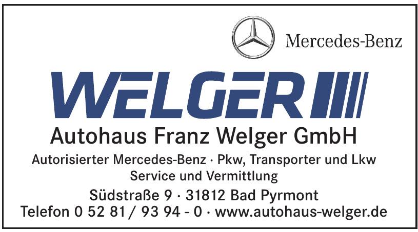 Autohaus Franz Welger GmbH