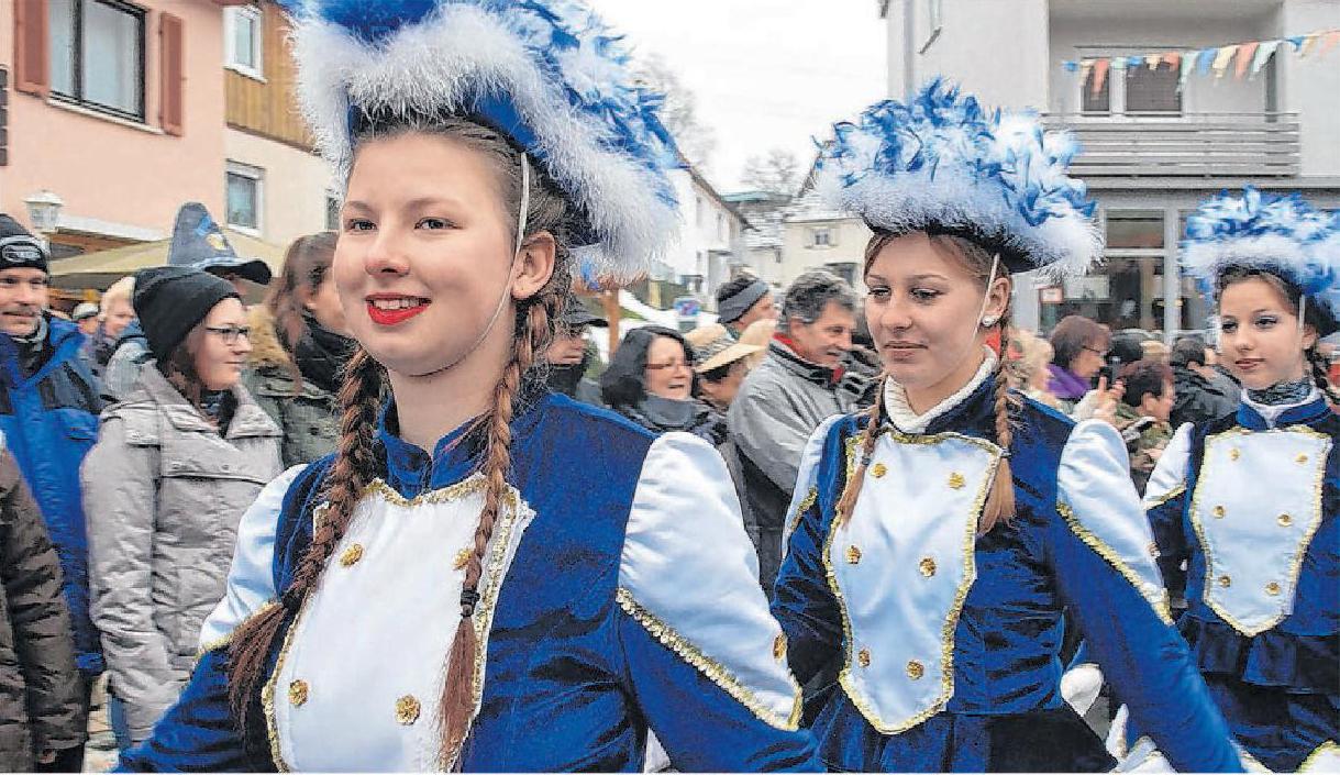 Die Tanzgarde der Narrenzunft Jägi feiert am Samstag ihr 25-jähriges Jubiläum mit Garde- und Showtanzwettbewerb.
