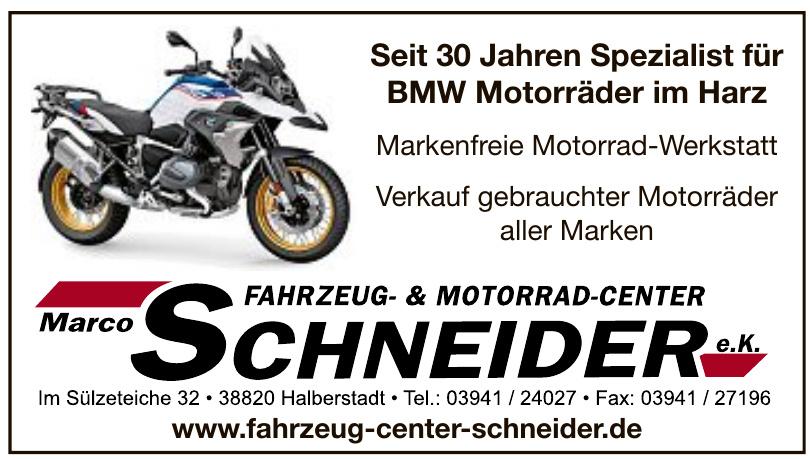 Fahrzeug- & Motorrad-Center Marco Schneider e.K.