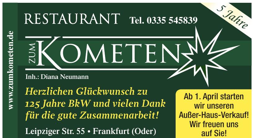 Restaurant Zum Kometen