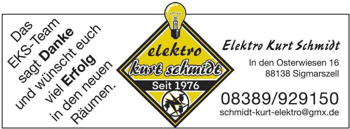 Elektro Kurt Schmidt