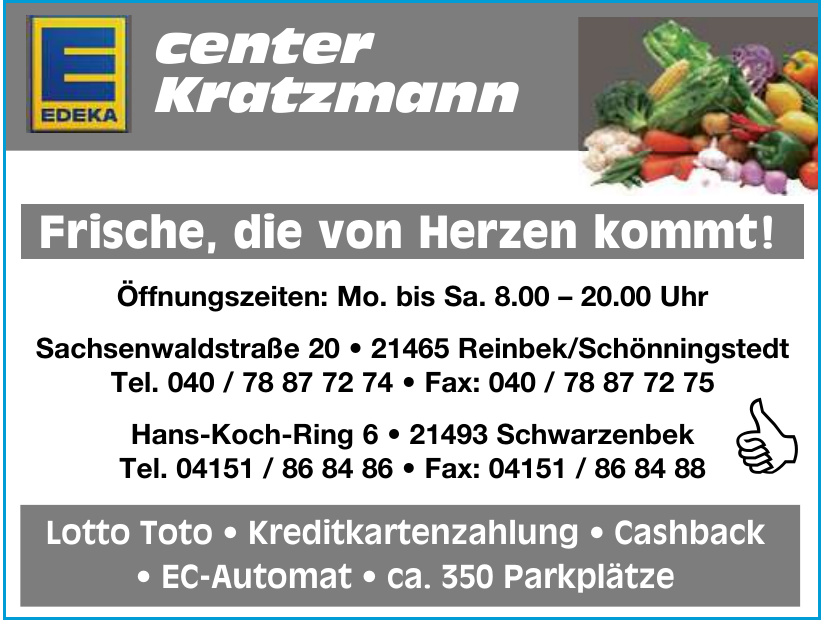 Edeka center Kratzmann