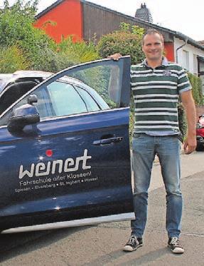 Klaus Peter Weinert ist mit seiner Fahrschule Weinert in allen Klassen zuhause. Foto: cms