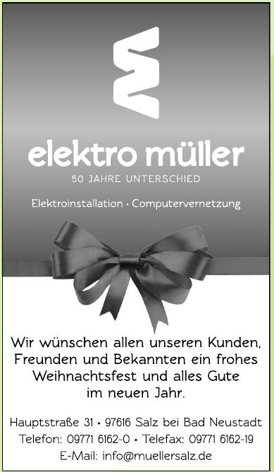 Elektro Müller - Frau Ruth Müller