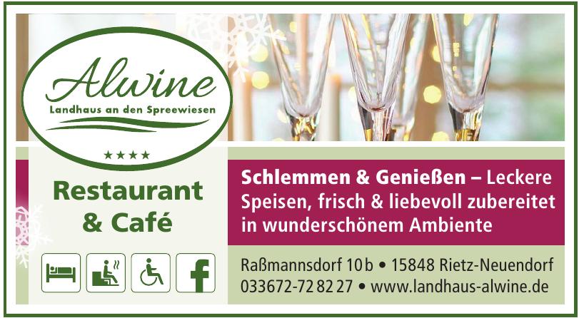 Alwine Restaurant & Café
