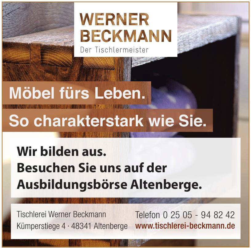 Tischlerei Werner Beckmann