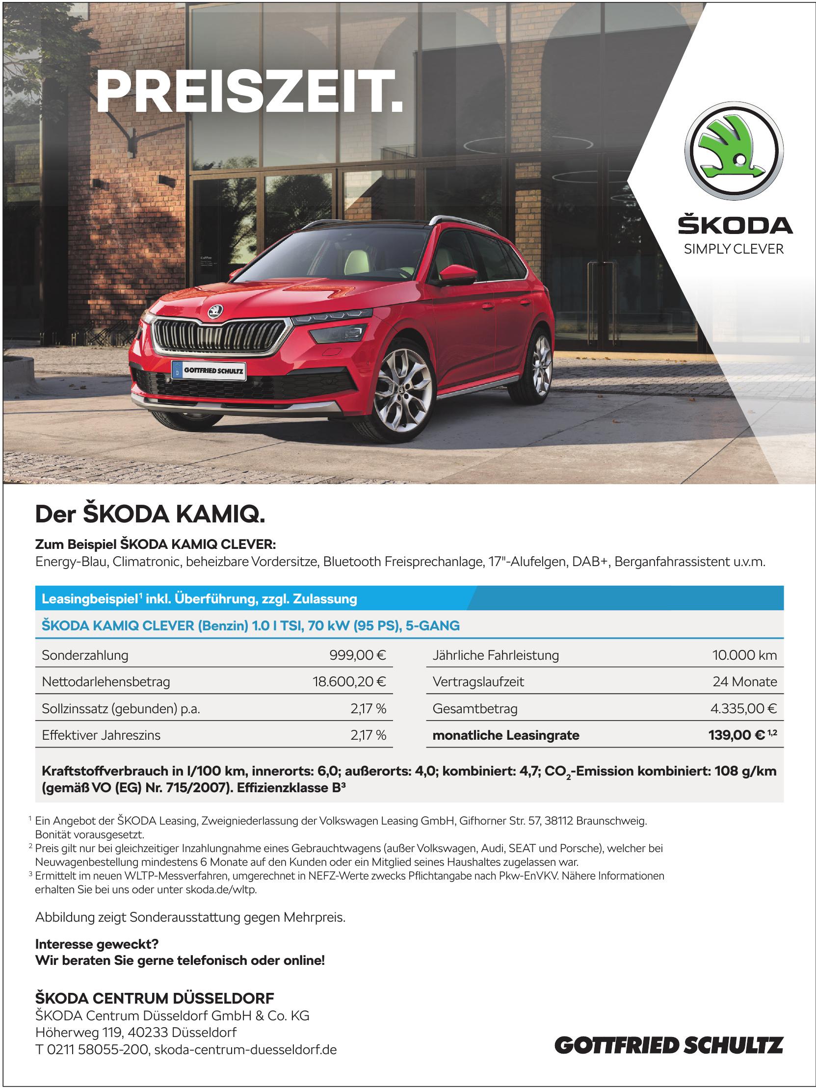 ŠKODA Centrum Düsseldorf GmbH & Co. KG - Gottfried Schultz