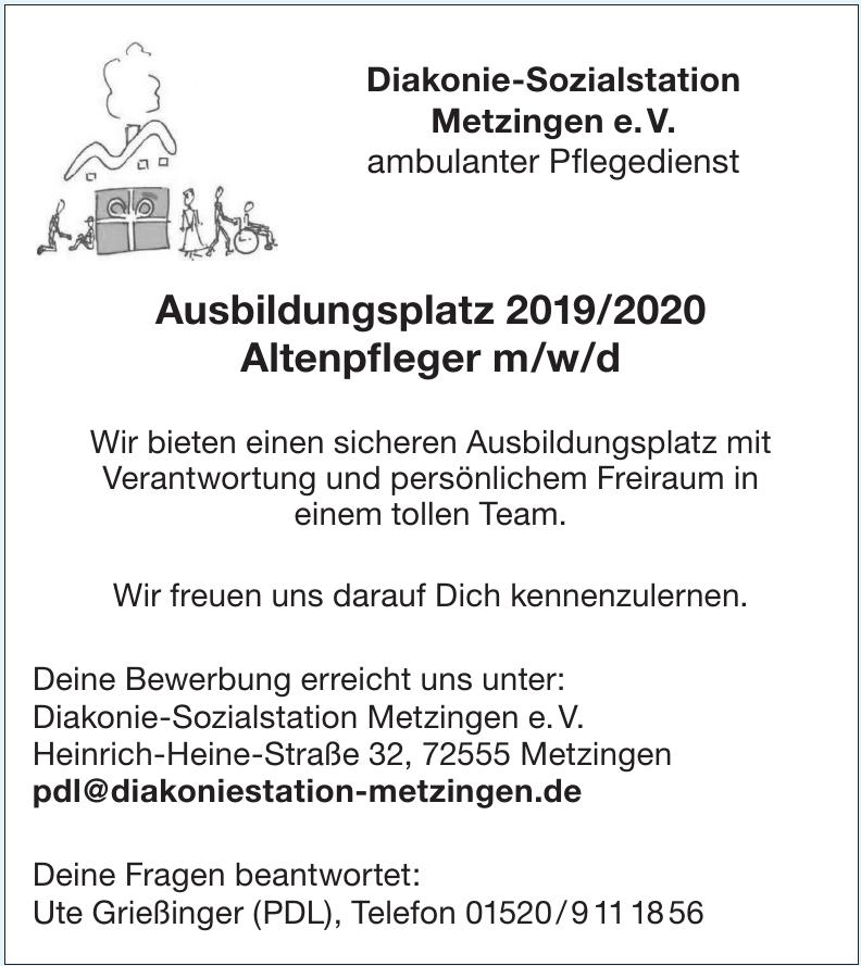 Diakonie-Sozialstation Metzingen e. V.