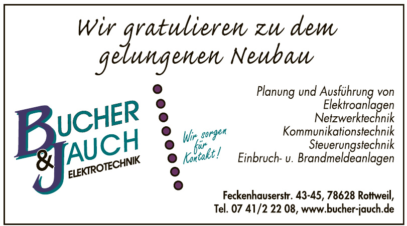 Bucher & Jauch Elektrotechnik